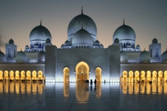 Sue Nash-The Mosque at Night-9