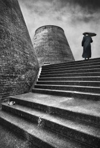 Michael Davison-Man with Brolly