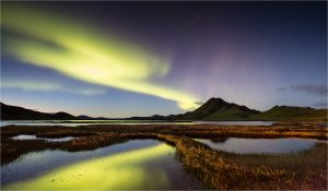 aurora-over-landmannalauger